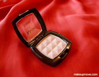 nyx cosmetics blush taupe
